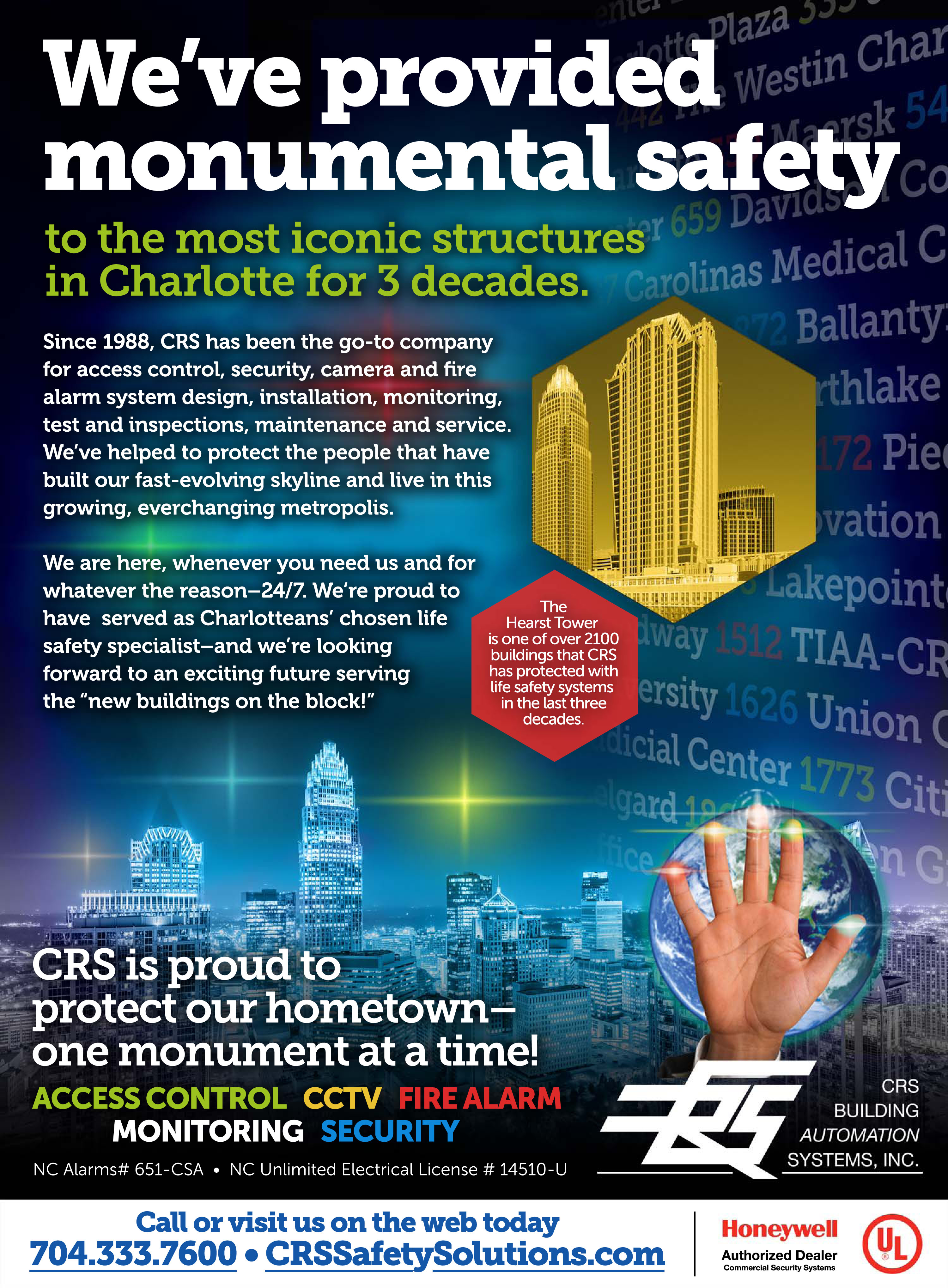 Crs Building Automation Systems Inc Crs In The News